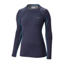 COLUMBIA MIDWEIGHT STRETCH LONG SL TOP NOCTURNAL SOUS VET F