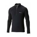 COLUMBIA MIDWEIGHT STRETCH LONG SLEEVE HALF ZIP BL TS TECHNIQUE