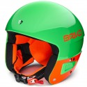 BRIKO VULCANO FIS 6.8 JR GREEN FLUO ORANGE CASQUE