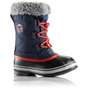 SOREL YOOT PAC NYLON COLLEGIATE NAVY/SAIL RED CHAUSSURES