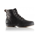SOREL ANKENY MID HIKER BLACK/TABACCO CHAUSSURES