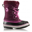 SOREL CHILDREN YOOT PAC NYLON PURPLE DAHLIA/FOXGLOVE CHAUSSURES
