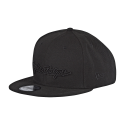TROY LEE DESIGNS CASQUETTE SNAPBACK SIGNATURE BLK/BLK OSFA 2018