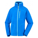 COLUMBIA FAST TREK II FULL ZIP SUPER BLUE VESTE POLAIRE ENFANT
