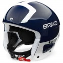 BRIKO VULCANO FIS 6.8 SHINY BLUE WHITE CASQUE
