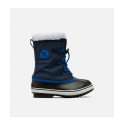 SOREL CHILDREN YOOT PAC NYLON COLLEGIATE NAVY CHAUSSURES