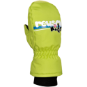 REUSCH KIDS NEON GREEN MOUFLES