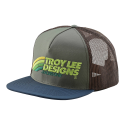 TROY LEE DESIGNS CASQUETTE VELO GREEN/BROWN  2019