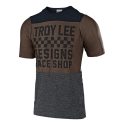 TROY LEE DESIGNS MAILLOT SKYLINE S/SAIR CHECKERS HTRBLK/HTR 2019