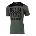 TROY LEE DESIGNS MAILLOT SKYLINE S/S CHECKERS CAMO/HTR TAUP 2019