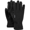 BARTS FLEECE GLOVES BLACK GANTS 2020