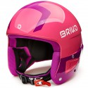 CASQUE BRIKO JR VULCANO FIS 6.8 - SHINY PINK VIOLET JR 2020