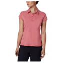 COLUMBIA PEAK TO POINT II POLO ROUGE PINK HEAT POLO 2020