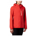 COLUMBIA WOMENS POURING ADVENTURE BOLD ORANGE PE VESTE 2020