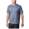 COLUMBIA ZERO RULES M SS SHORT CARBON HEATHER T SHIRT 2020
