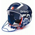CASQUE BRIKO SLALOM ADULT - SHINY WHITE BLUE