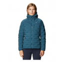 MOUNTAIN HARDWEAR SUPER DS Stretchdown hooded Femme - Icelantic