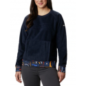 COLUMBIA EXPLORATION FLEECE CREW - DARK NOCTURNAL