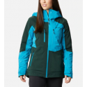 COLUMBIA WILD CARD INSULATED JACK SPRUCE VESTE FJORD BLUE
