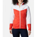 COLUMBIA ROFFE RIDGE II FULL ZIP VESTE BOLD ORANGE WH